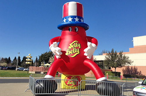 Jelly Belly Man Sits