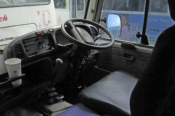 Jitney Driver Seat