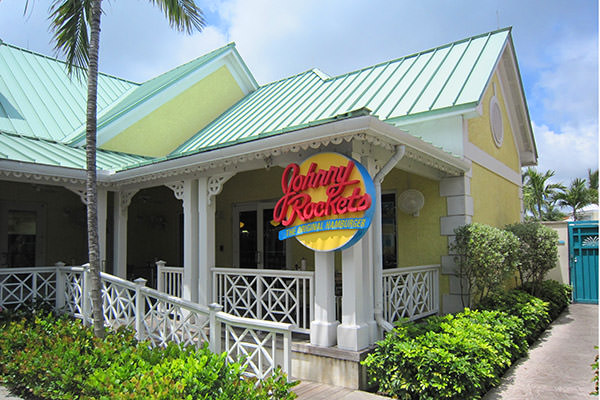 Johnny Rockets Paradise Island Atlantis!
