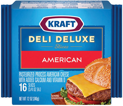 Kraft Deli Deluxe American