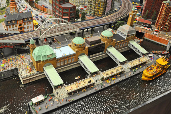 Miniatur Wunderland Hard Rock Building Hamburg