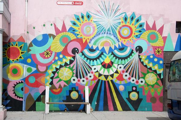 Nassau Coke Mural