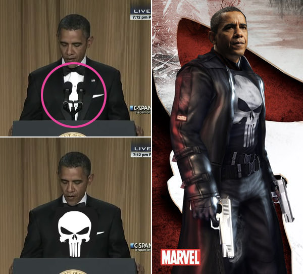 President Obama is the Punisher