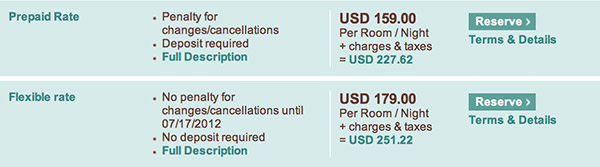 Sheraton Resort Fee