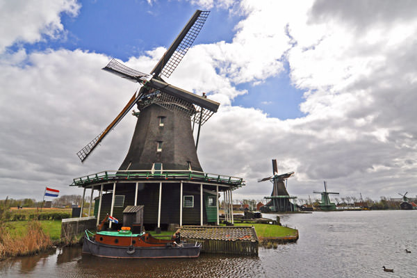 Windmills at Zaanse Schans