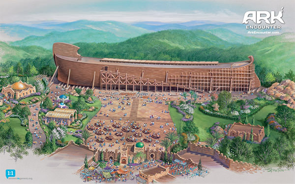 Ark Encounter Drawing
