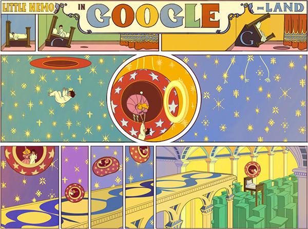 Google Little Nemo Doodle