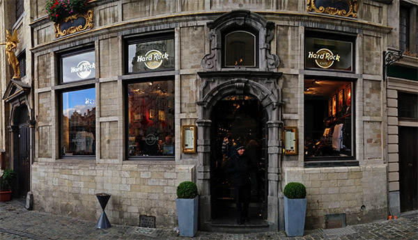 Hard Rock Brussels Exterior
