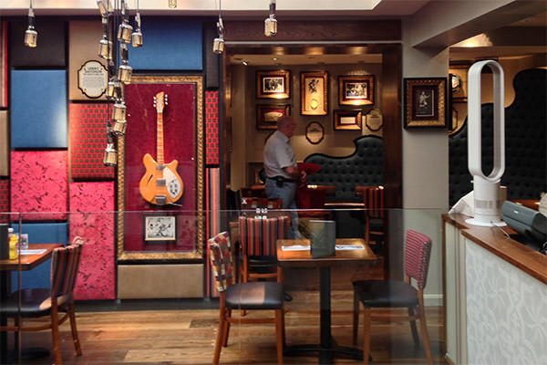 Hard Rock Brussels Interior