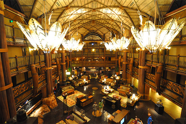 Jambo House Lobby: Animal Kingdom Lodge
