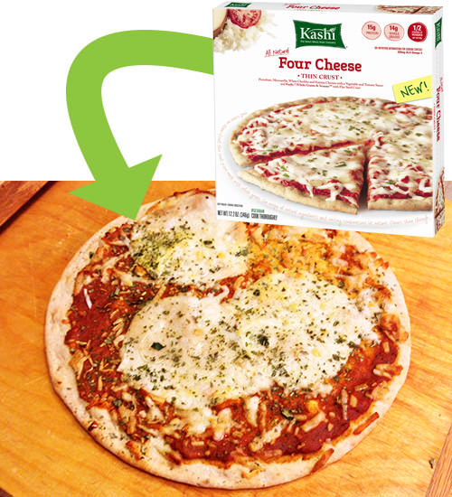 Kashi Four Cheese Pizza