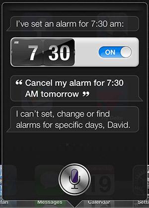 Siri Alarms