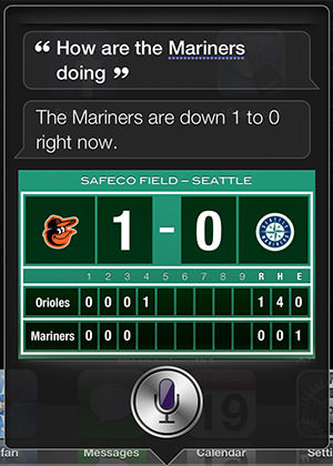 Siri Mariners