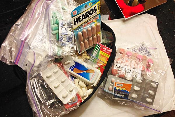 Travel Medicine Cabinet