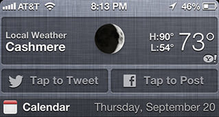 IOS6 Tap to Tweet!