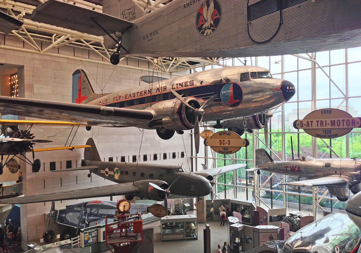 Air and Space Museum Lobby