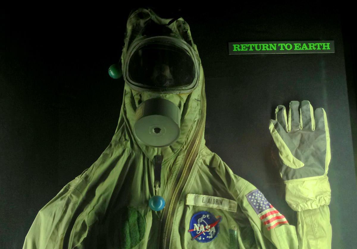 Aldrin Space Suit