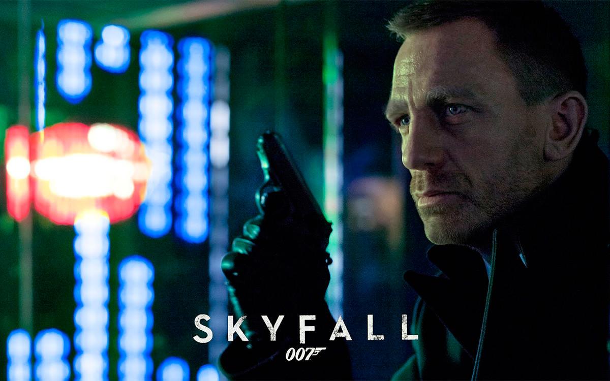 Bond in Skyfall