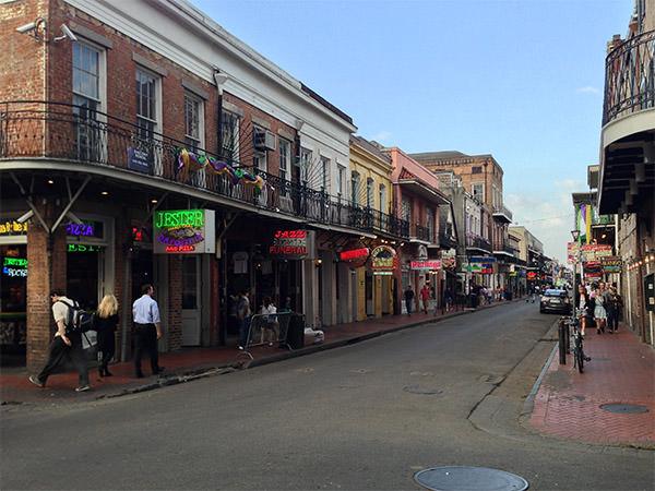 Bourbon Street Daytime