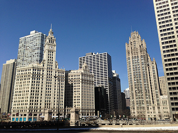 Chicago Blue Sky
