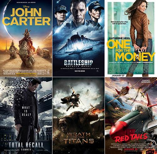 Dave Worst Movies 2012