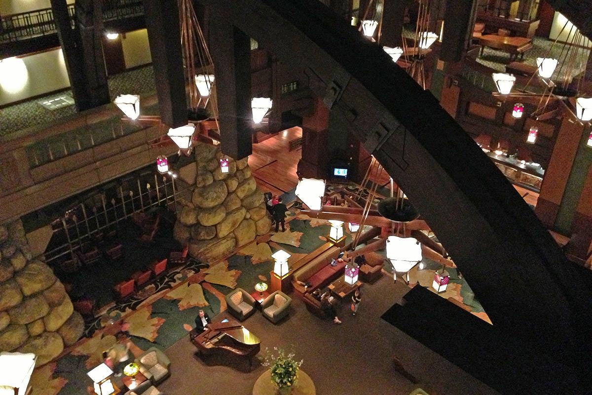 Grand Californian Lobby