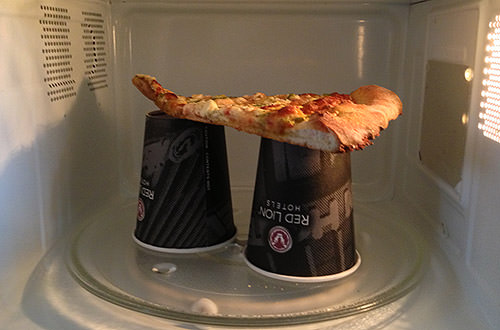 Hotel Pizza Microwave Cooking Cups