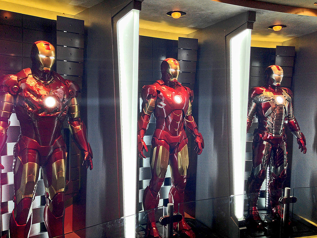 Iron Man Hall of Armor!