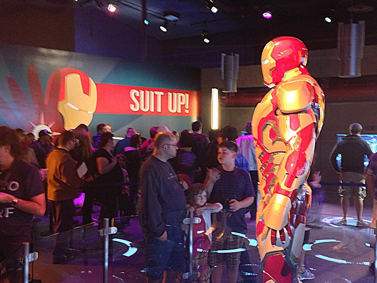 Iron Man Suit Up!