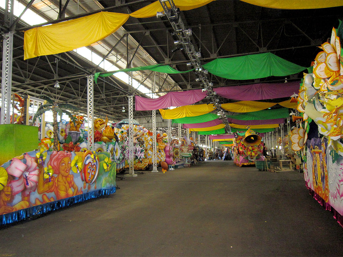 Mardi Gras World Warehouse