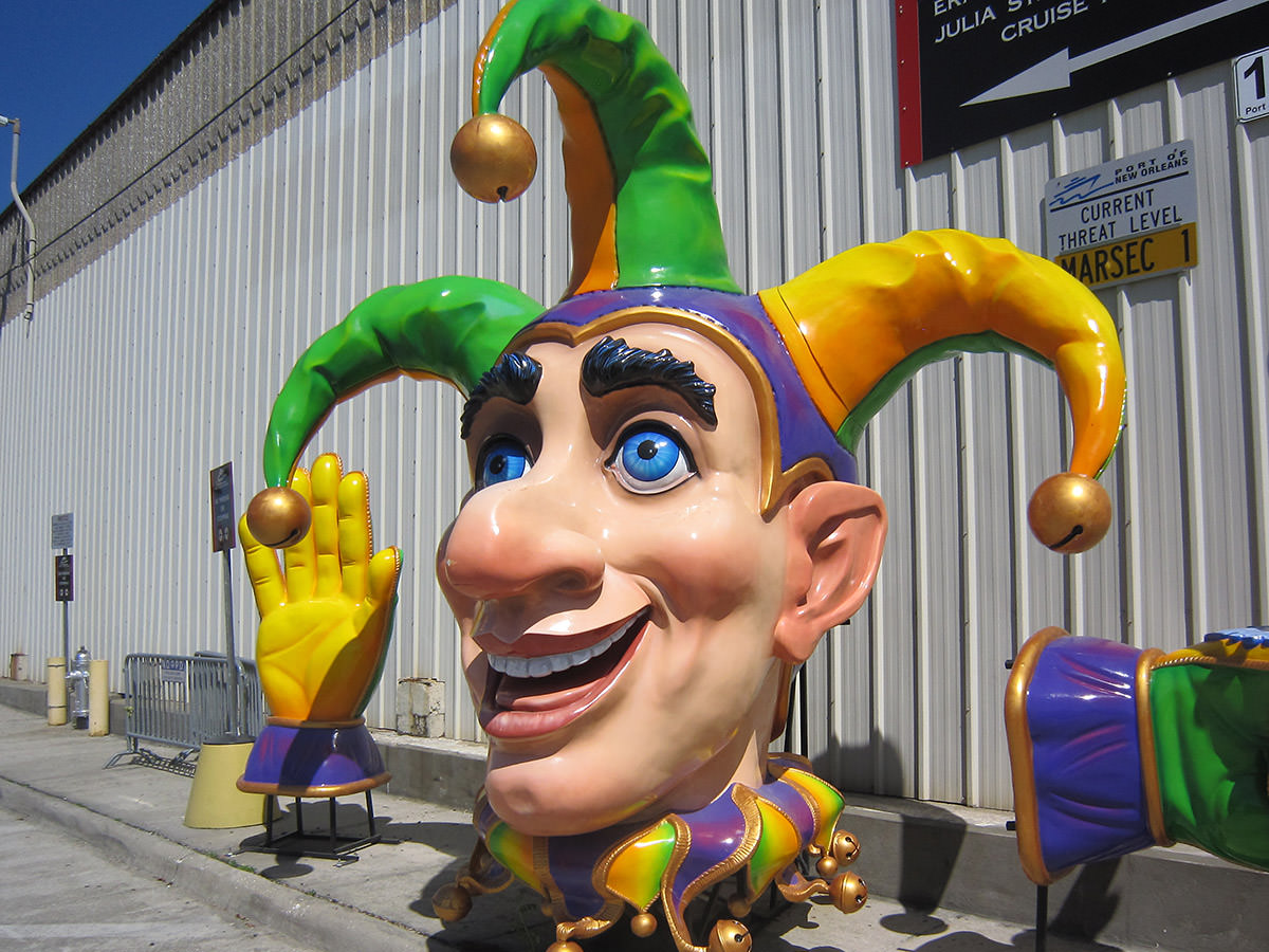 Mardi Gras World Sunny