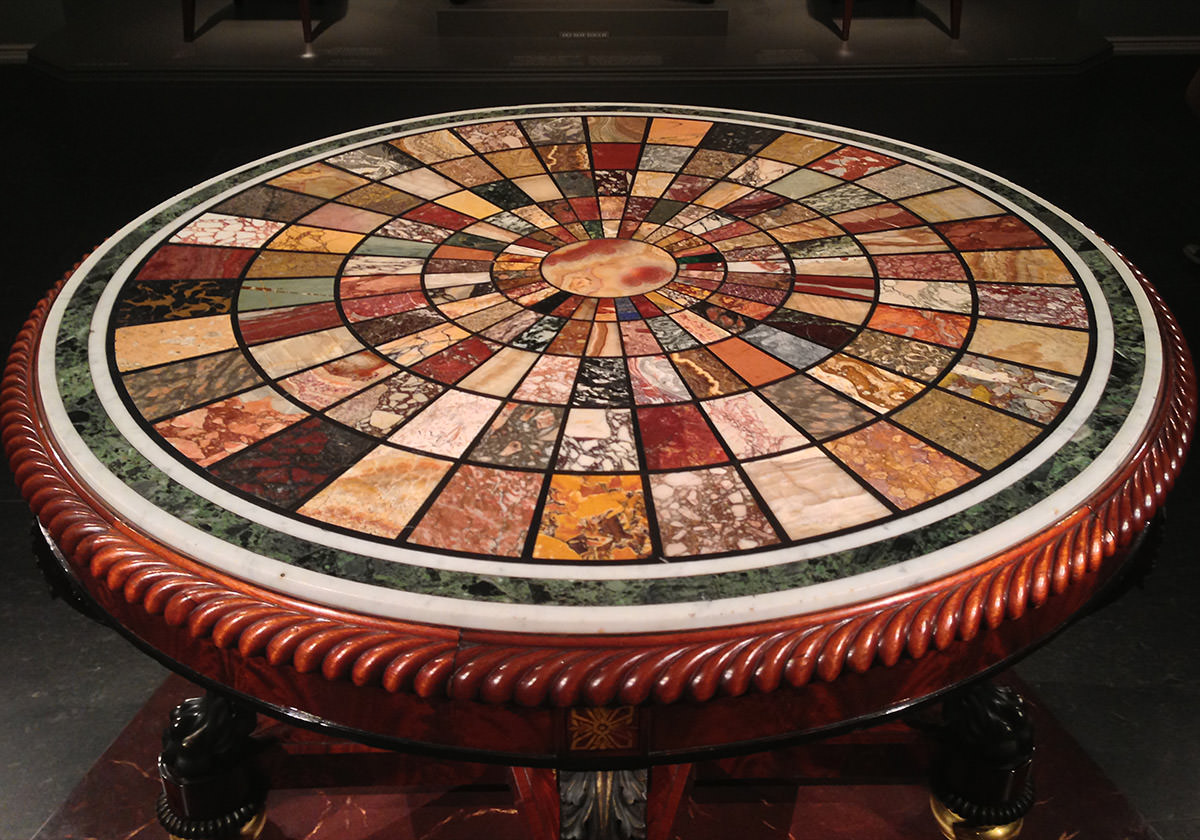 National Museum Table