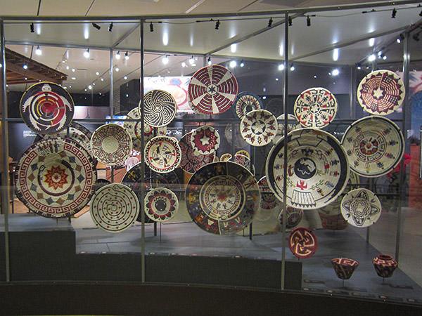 Natural History Museum Weaving Exhibit