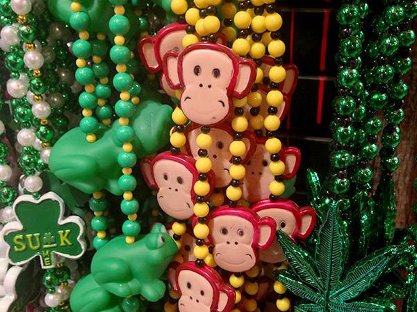 NOLA Monkey Beads