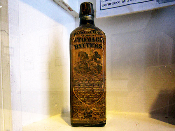 Pharmacy Museum Bottle Label