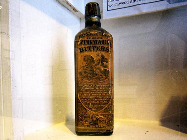 Pharmacy Museum Bottle Label