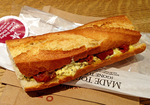 Pret Egg Sandwich