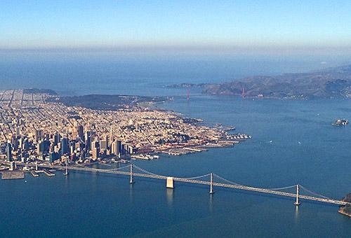 San Francisco by Air