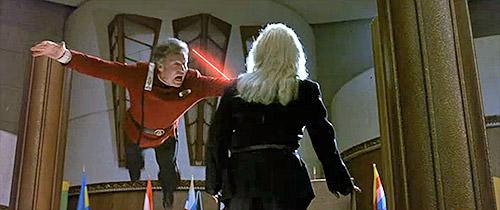 Kirk saves the President!