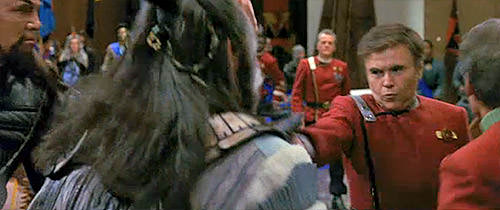 Chekov captures a conspirator