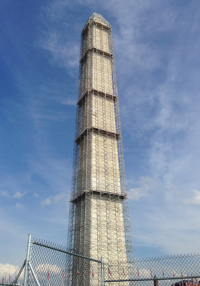 Washington Monument Repairs