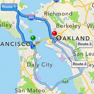 Apple Maps RIGHT