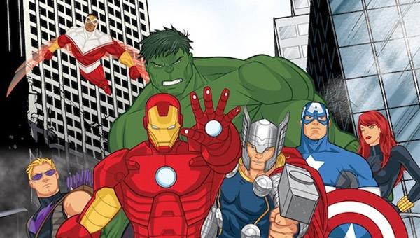Avengers Assemble Cartoon!