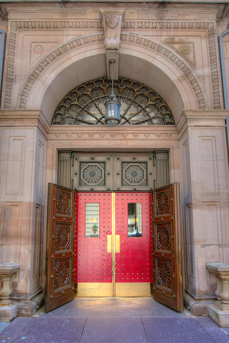 Boston Athenaeum Door