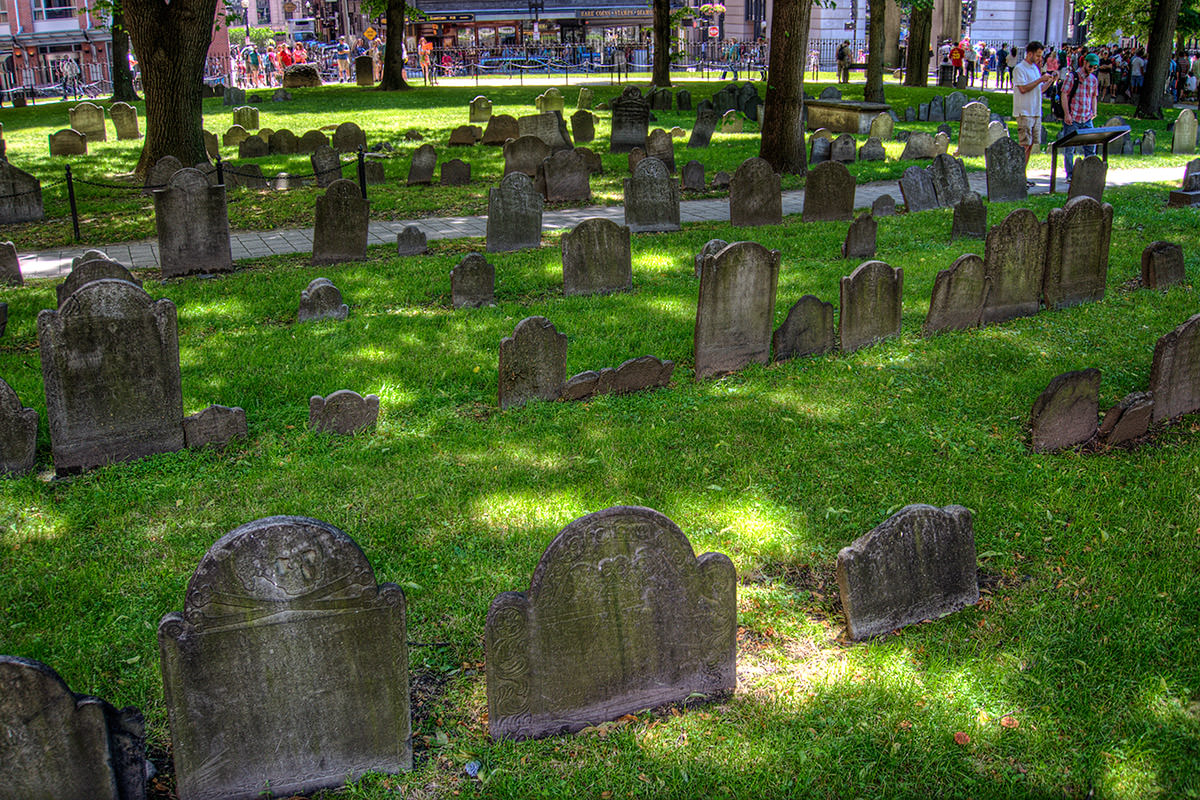 Boston Granary Burying Grounds Cemetery