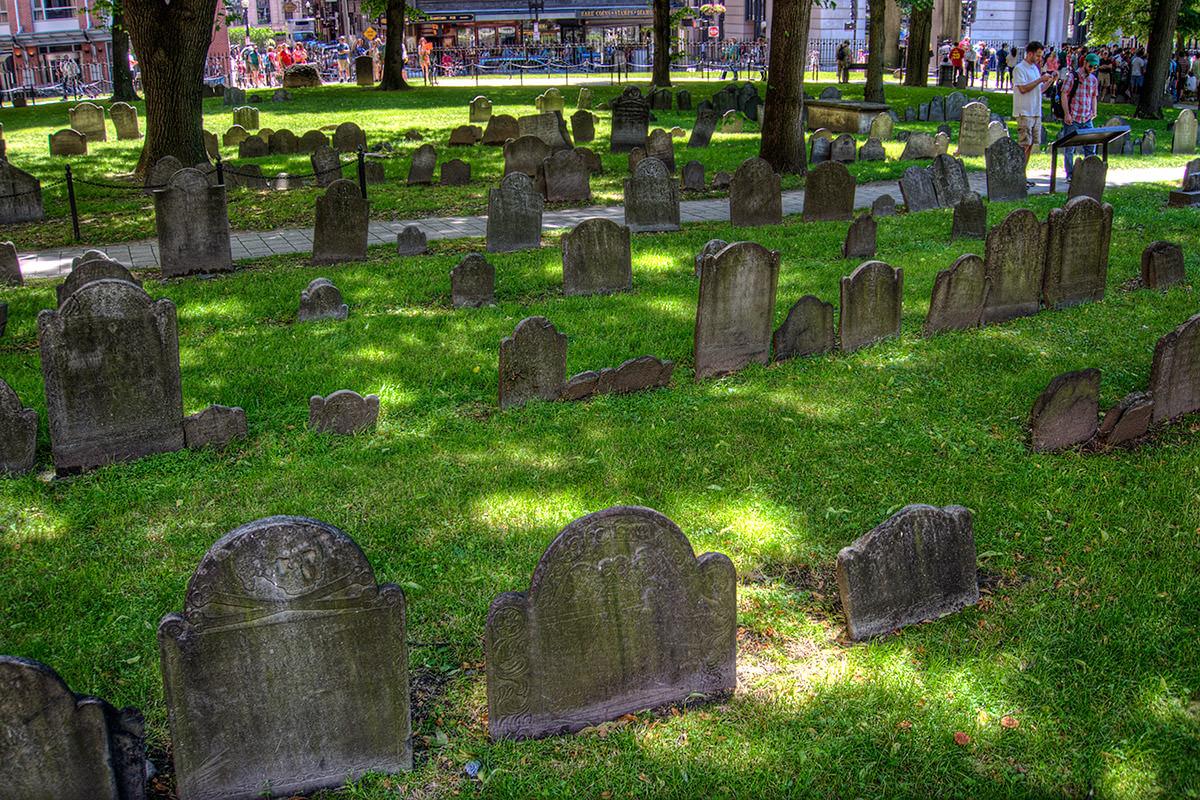 Boston Granary Burying Grounds Cemetery