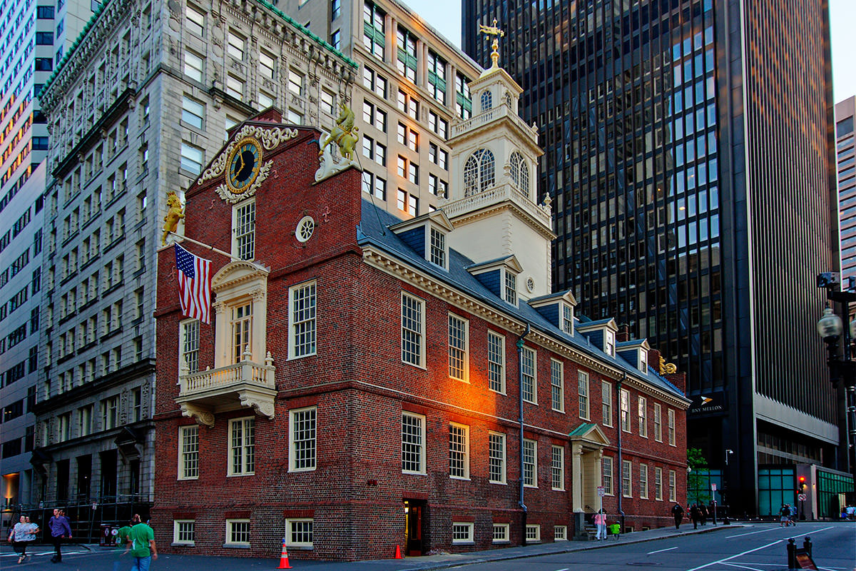 Boston Old Statehouse Building