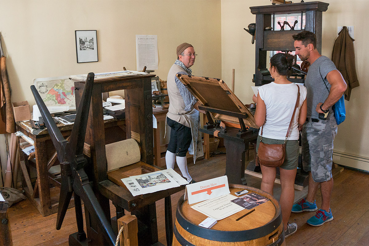 Boston Printing Office of Edes & Gill