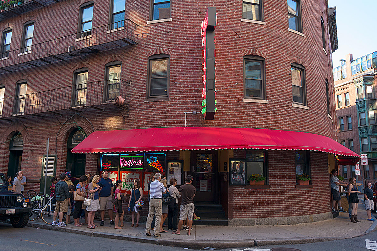 Boston Regina Pizza