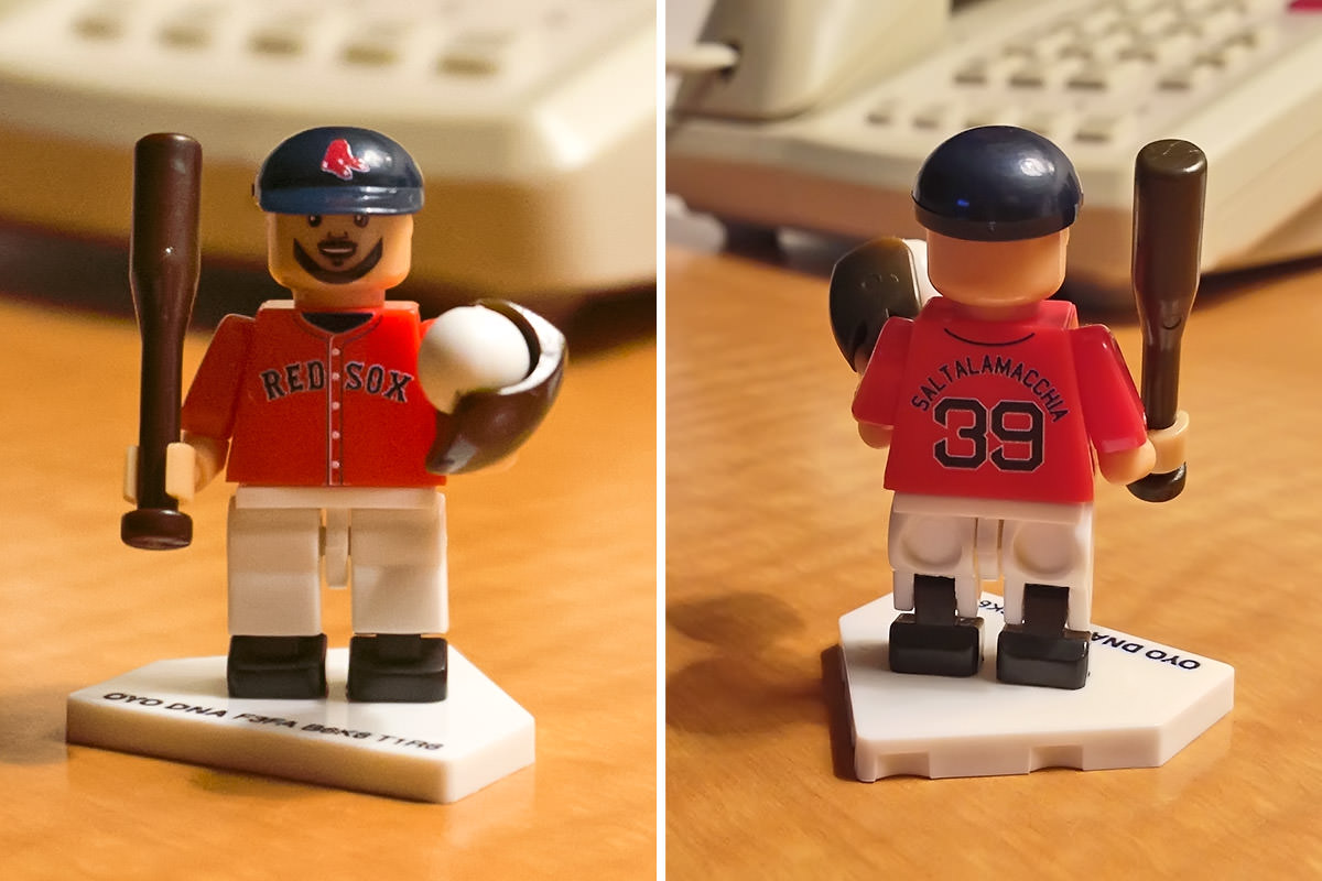 Boston Saltalamacchia No-LEGO